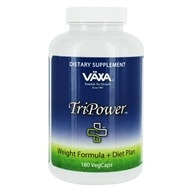 TriPower+ Weight Formula & Diet Plan - 180 Vegetable Capsule(s)
