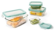 Good Grips Snap Glass Food Storage Containers Rectangular Set - 8 Piece(s)