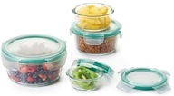 Good Grips Snap Glass Food Storage Containers Round Set - 8 Piece(s)