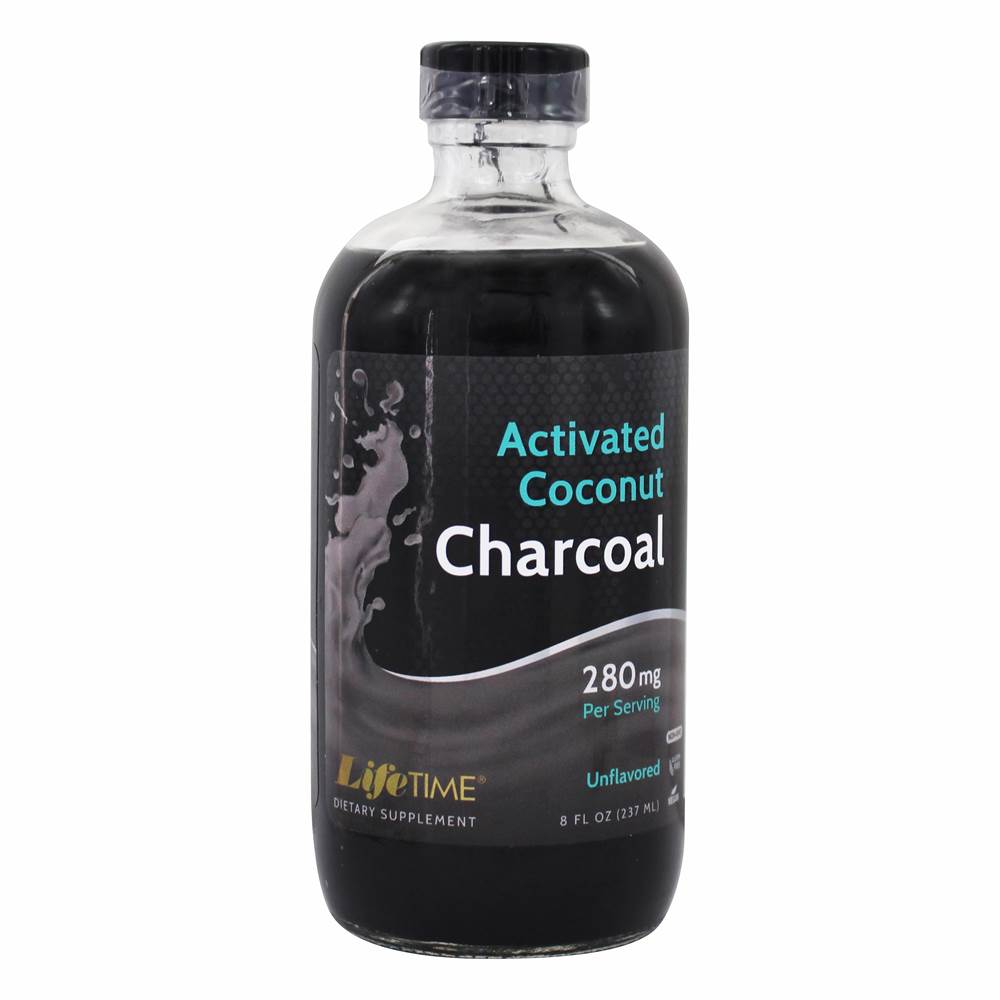Activated Coconut Charcoal Unflavored 280 mg. - 8 fl. oz.