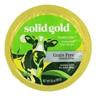 Grain Free Wet Dog Food Green Cow Beef Tripe Recipe - 3.5 oz. by Solid Gold