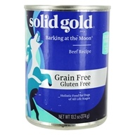 Canned Dog Food Barking at the Moon Beef Recipe - 13.1 oz. by Solid Gold