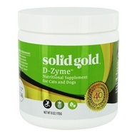 D-Zyme Nutritional Supplement For Cats & Dogs - 6 oz. by Solid Gold