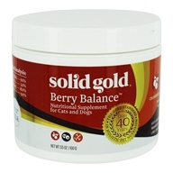 Berry Balance Powder For Urinary Tract Health in Cats & Dogs - 3.5 oz. by Solid Gold