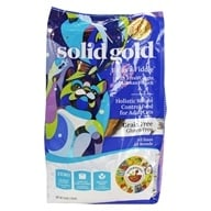 Grain Free Dry Cat Food Fit as a Fiddle with Fresh Caught Alaskan Pollock - 3 lbs. by Solid Gold