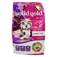 Grain Free Dry Dog Food For Small Breeds Wee Bit Bison & Brown Rice Recipe with Pearled Barley - 4 lbs. by Solid Gold