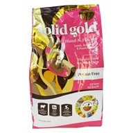 Grain Free Dry Dog Food Hund-N-Flocken Lamb, Brown Rice & Pearled Barley Recipe - 4 lbs. by Solid Gold