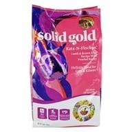 Grain Free Dry Cat Food Katz-N-Flocken Lamb & Brown Recipe with Pearled Barley - 4 lbs. by Solid Gold