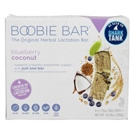 Original Herbal Lactation Bar Blueberry Coconut - 6 Bars