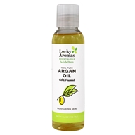 LuckyAromas - 100% Pure Cold Pressed Argan Oil - 4 fl. oz.