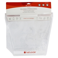 ZipTuck Reusable Large Storage Bag Clear - 1 Gallon by Full Circle