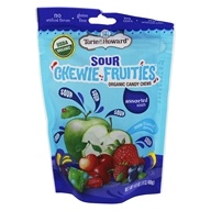Organic Sour Chewie Fruities Candy Chews Assorted Sours - 4 oz. by Torie & Howard