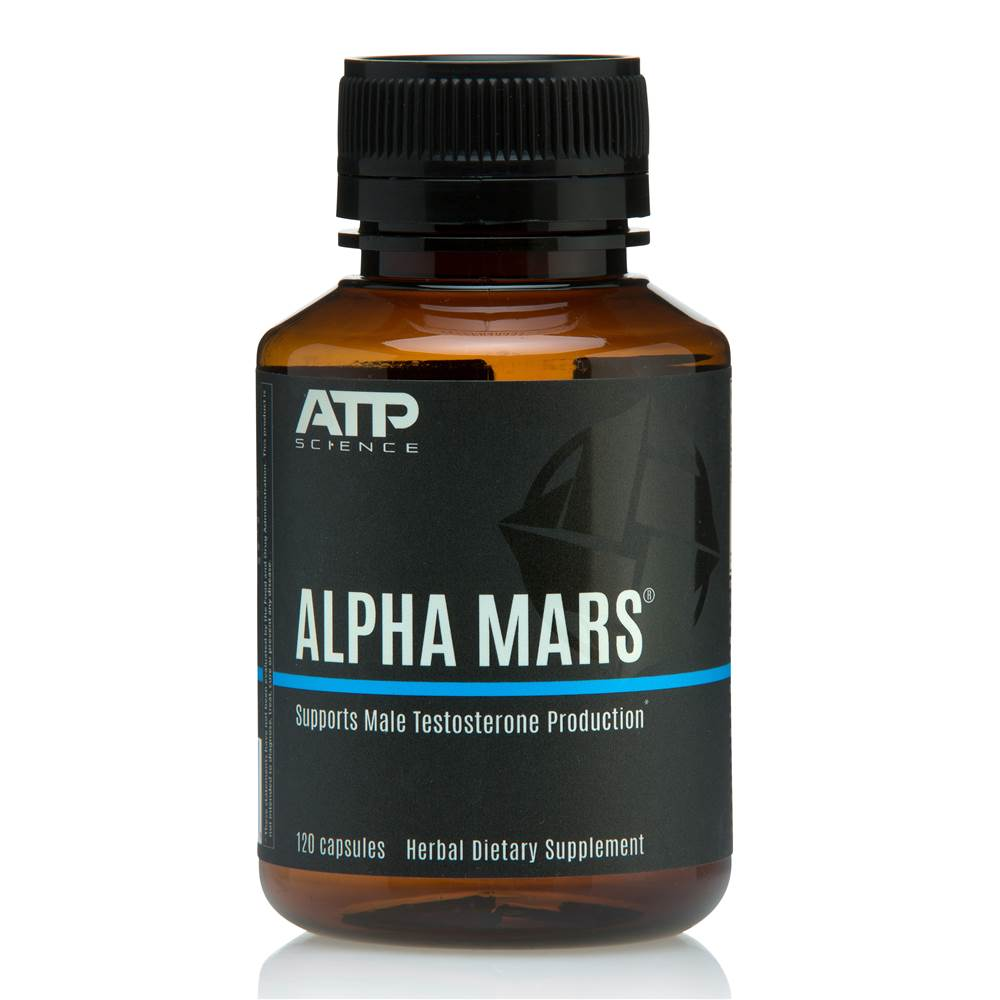 Alpha Mars Male Testosterone Production Support - 120 Capsules