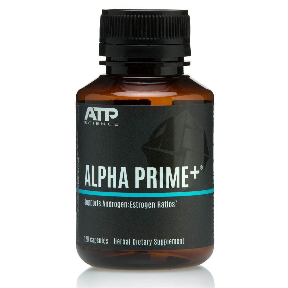 Alpha Prime Formulated Supplementary Sports Food - 120 Capsules
