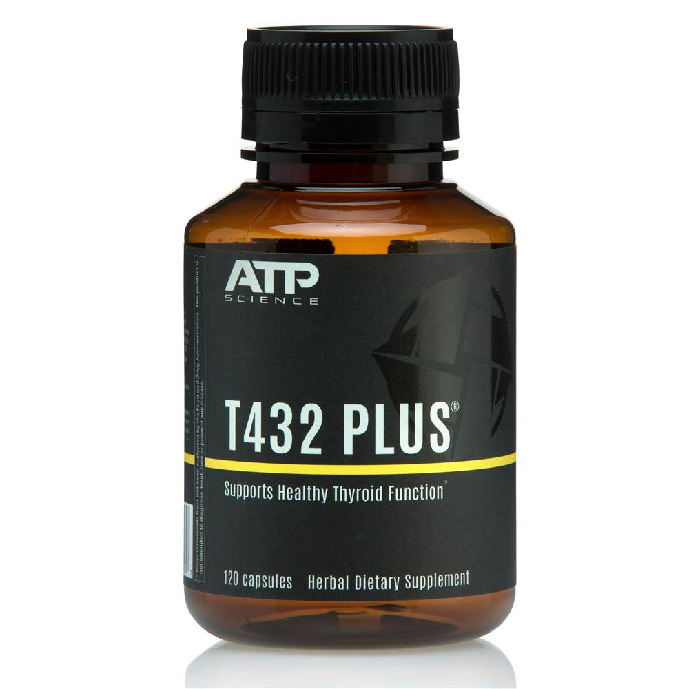 ATP Science - T432 Plus Healthy Thyroid Function Support - 120 Capsules