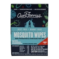 Mosquito Wipes - 10 Wipe(s) by Aunt Fannie's