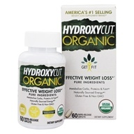 Hydroxycut Organic Get Fit Fat Burner - 60 Caplets