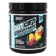 OutLift Concentrate Explosive Performance Pre-Workout Powder 30 Servings Miami Vice - 6.6 oz.
