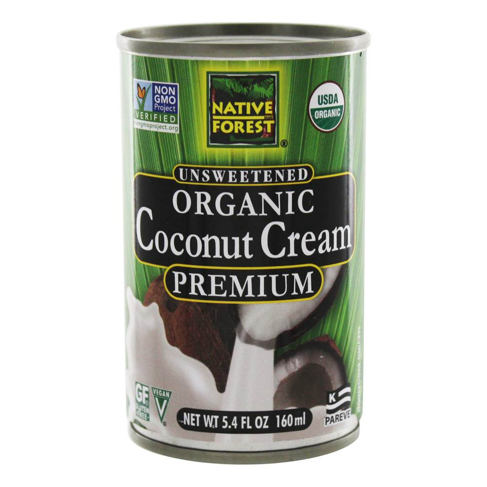 Native Forest - Organic Premium Coconut Cream Unsweetened - 5.4 fl. oz.