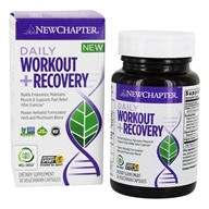 New Chapter - Daily Workout + Recovery - 30 Vegetarian Capsules