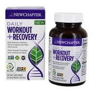 Daily Workout + Recovery - 60 Vegetarian Capsules by New Chapter