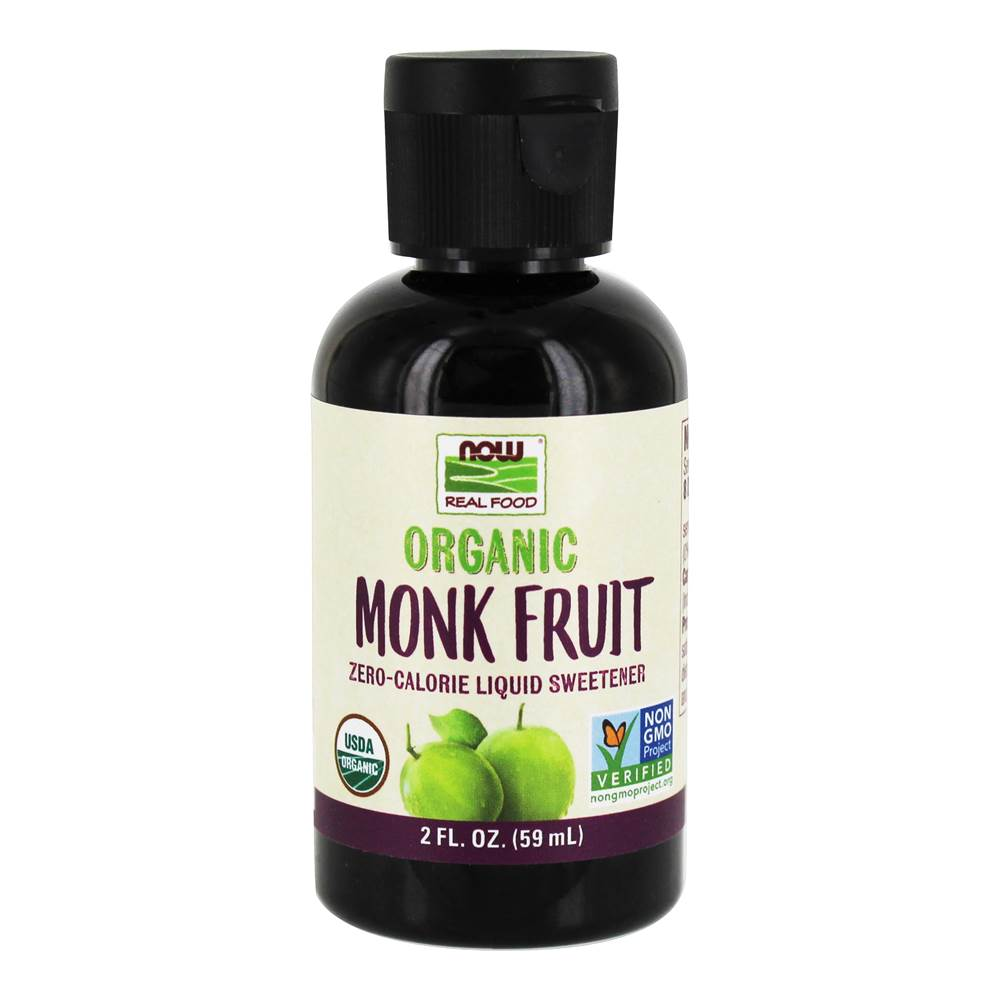 Organic Monk Fruit Zero Calorie Liquid Sweetener - 2 fl. oz.