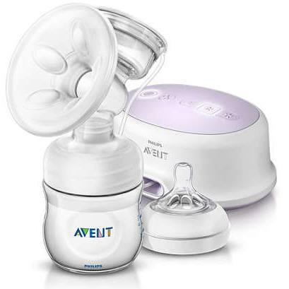 Avent Comfort Single Electric Breast Pump SCF321-11 by Philips
