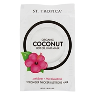 St. Tropica - Organic Coconut Hot Oil Hair Mask - 1.5 oz.