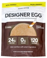 Totally Egg Egg Yolk + White Protein Powder Dutch Chocolate - 12.4 oz.