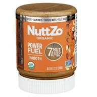 NuttZo - Paleo Organic Seven Nut & Seed Butter Power Fuel Smooth - 12 oz.