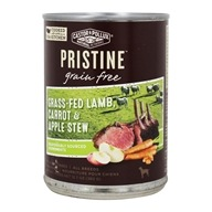 Pristine Grain Free Canned Dog Food Grass Fed, Lamb, Carrot & Apple Stew - 12.7 oz.