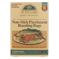 Unbleached Totally Chlorine Free Non Stick Parchment Roasting Bags Medium - 6 Bags by If You Care