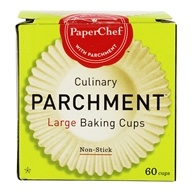 Culinary Parchment Baking Cups Large Non-Stick - 60 Cup(s) by Paper Chef