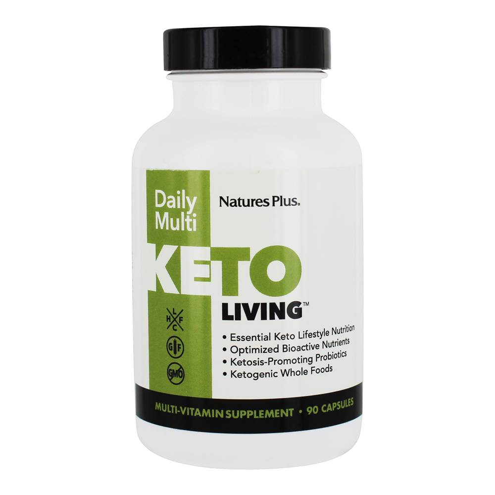 Keto Living Daily Multivitamin Formula - 90 Capsules by Natures Plus