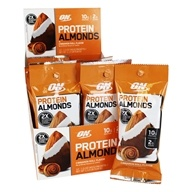 Protein Almonds Box Cinnamon Roll - 12 Packet(s) by Optimum Nutrition