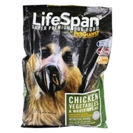 Lifespan Super Premium Dry Dog Food Chicken Vegetables & Whole Grains - 4 lbs. by PetGuard