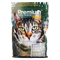 Super Premium Dry Cat & Kitten Food Wholesome Chicken & Brown Rice - 4 lbs. by PetGuard