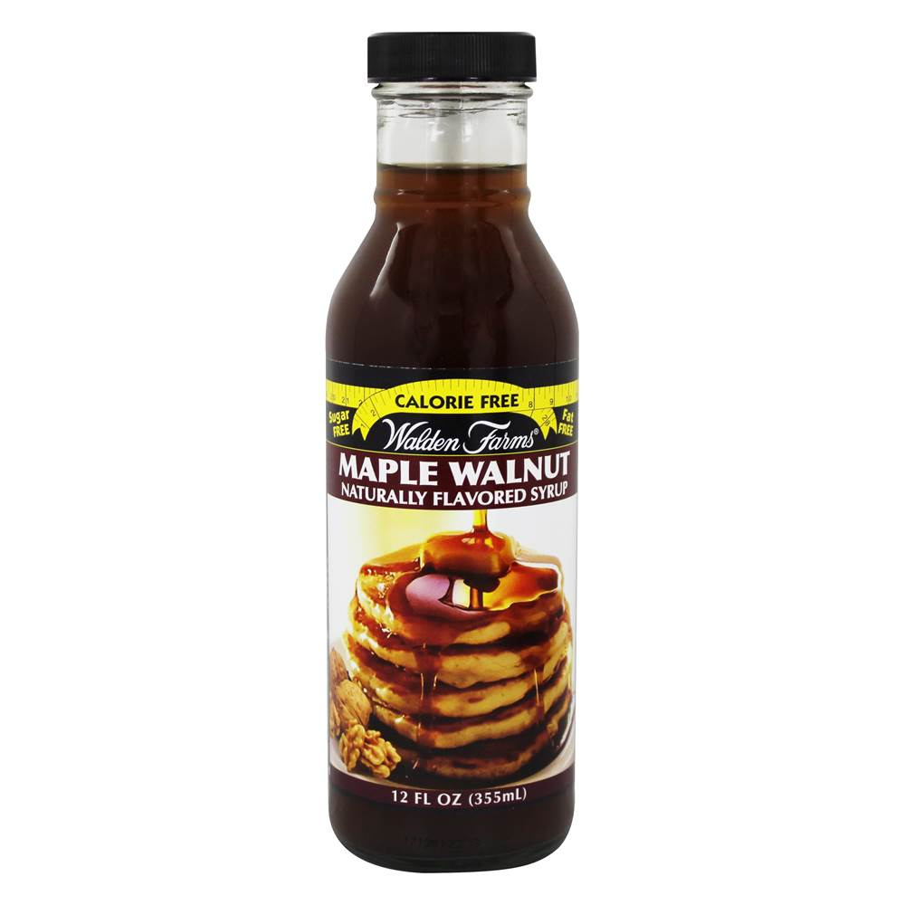 Calorie Free Syrup Maple Walnut - 12 fl. oz. by Walden Farms