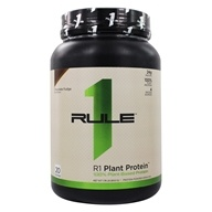 R1 100% Plant-Based Protein Powder 20 Servings Chocolate Fudge - 1.76 lb. by Rule One Proteins