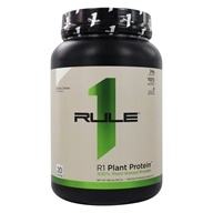 R1 100% Plant-Based Protein Powder 20 Servings Vanilla Creme - 1.68 lb. by Rule One Proteins