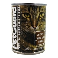 Canned Cat Food Chicken & Wheat Germ Dinner - 13.2 oz. by PetGuard