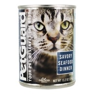 Canned Cat Food Savory Seafood Dinner - 13.2 oz. by PetGuard