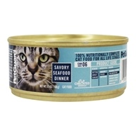 Canned Cat Food Savory Seafood Dinner - 5.5 oz. by PetGuard