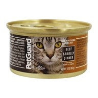 Canned Cat Food Beef & Barley Dinner - 3 oz. by PetGuard