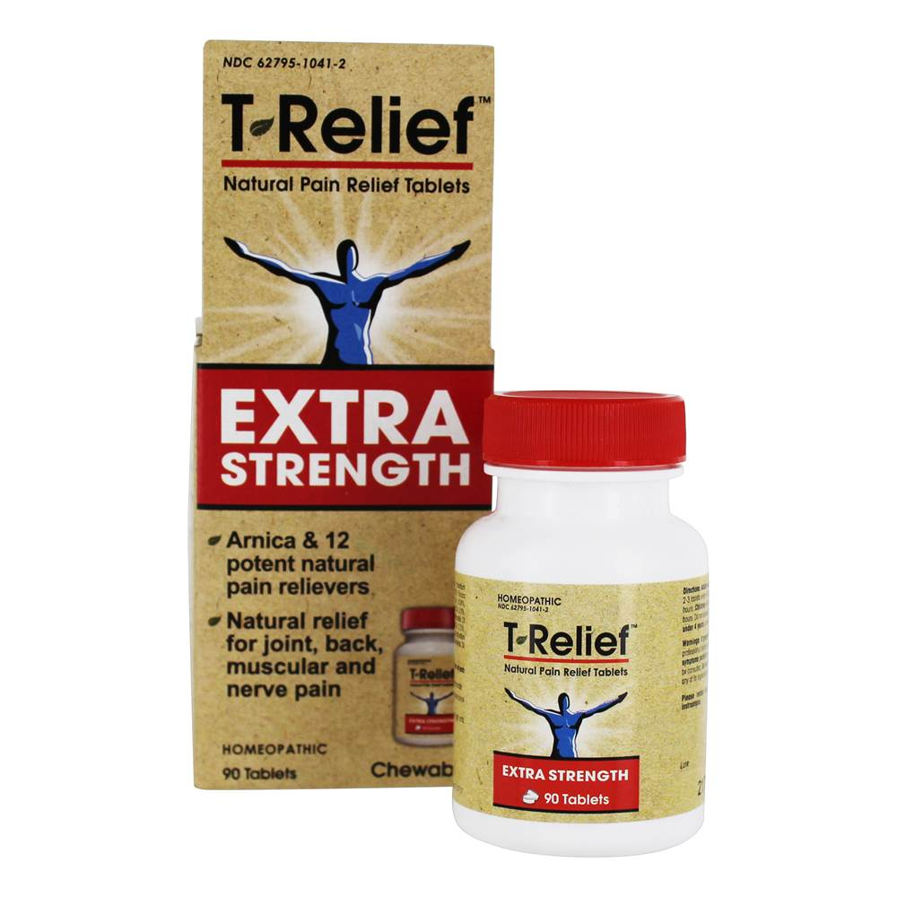 T-Relief Extra Strength Natural Pain Relief Formula - 90 Tablets