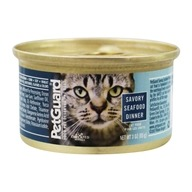 Canned Cat Food Savory Seafood Dinner - 3 oz. by PetGuard
