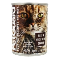 Canned Cat Food Beef & Wheat Germ Dinner - 13.2 oz. by PetGuard