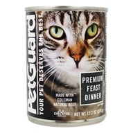 Canned Cat Food Premium Feast Dinner - 13.2 oz. by PetGuard