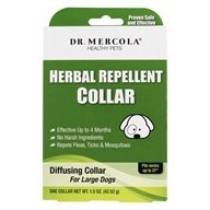 Herbal Repellent Collar For Large Dogs - 1.5 oz.