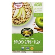 Organic Instant Hot Oatmeal Spice Apple Flax - 8 Packet(s) by Nature's Path Organic